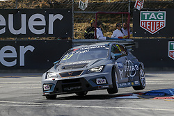 June 24, 2018 - Vila Real, Vila Real, Portugal - John Filippi from Italy in Cupra TCR of Team OSCARO by Campos Racing during the qualifying of FIA WTCR 2018 World Touring Car Cup Race of Portugal, Vila Real, June 23, 2018. (Credit Image: © Dpi/NurPhoto via ZUMA Press)
