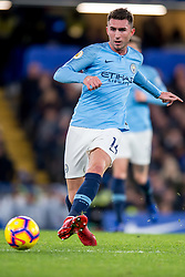 December 8, 2018 - London, Greater London, England - Aymeric Laporte of Manchester City during the Premier League match between Chelsea and Manchester City at Stamford Bridge, London, England on 8 December 2018. (Credit Image: © AFP7 via ZUMA Wire)