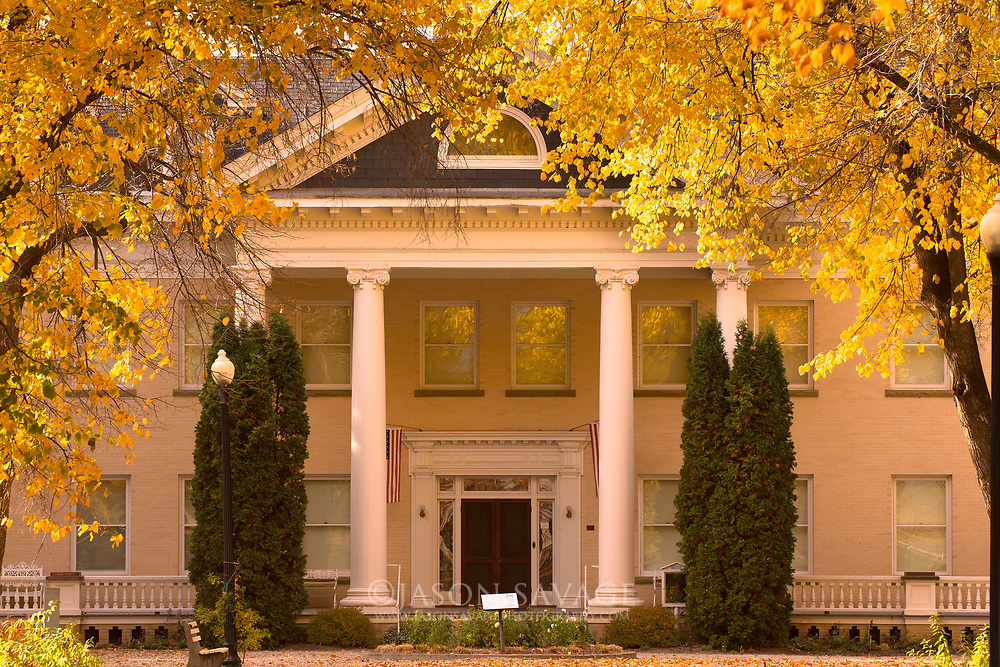Daly Mansion in Hamilton, Montana.