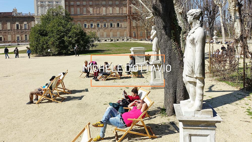 Torino, marzo 2016: sono nuovamente visitabili i Giardini Reali., gli spazi verdi che abbracciano i Musei Reali. La riapertura interessa un'area di cinque ettari dei sette complessivi.