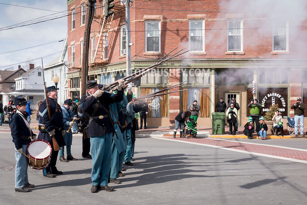 Goshen, New York - The 41st annual Mid-Hudson St. Patrick's Parade was held  on March 12, 2017
