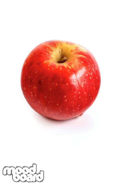 Studio shot of apples on white background
