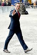 Koning Willem-Alexander en koningin Maxima houden de traditionele Nieuwjaarsontvangst voor Nederlandse genodigden in het Koninklijk Paleis op de Dam, Amsterdam<br /> <br /> King Willem-Alexander and Queen Maxima hold the traditional New Year's reception for Dutch guests in the Royal Palace on Dam Square, Amsterdam<br /> <br /> Op de foto / On the photo:  Hugo de Jonge