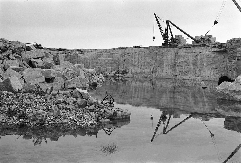 Stenbrott i Sundre på södra Gotland.
