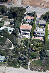 EXCLUSIVE: A series of aerial pictures shot over Malibu, CA showing singer Robbie Williams new home and the proximity to his famous neighbors. 02 Aug 2018 Pictured: Robbie Williams home. Photo credit: Toby Canham/MEGA TheMegaAgency.com +1 888 505 6342