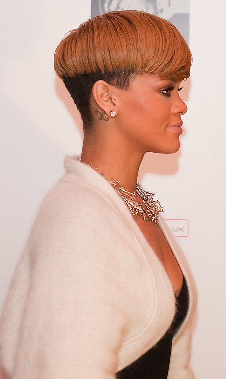 LONDON, ENGLAND - DECEMBER 09:  Singer Rihanna arrives for a Q&A at The Meat & Wine Co. Westfield on December 9, 2009 in London, England. Rihanna announced the dates of her May 2010 UK Tour. (Photo by Marco Secchi/Getty Images  (Photo by Marco Secchi/Getty Images)