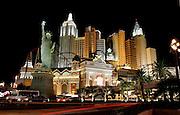 US-LAS VEGAS: Hotel Casino New York New York at night.PHOTO GERRIT DE HEUS