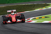 September 3-5, 2015 - Italian Grand Prix at Monza: Sebastian Vettel (GER), Ferrari