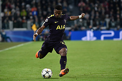 February 13, 2018 - Turin, Italy - Serge Aurier of Tottenham during the UEFA Champions League Round of 16 match between Juventus and Tottenham Hotspur at the Juventus Stadium, Turin, Italy on 13 February 2018. (Credit Image: © Giuseppe Maffia/NurPhoto via ZUMA Press)