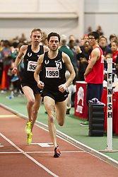 Boston University Terrier Invitational Indoor Track Meet: Galen Rupp, Oregon Project, wins Elite Mile 3:50.92 as Dorian Ulrey paces him