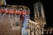 Mechelen. Kerstverlichting.