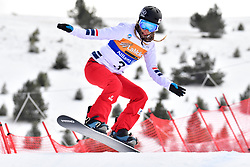 HERHNANDEWZ Cecile, SB-LL1, FRA, Banked Slalom at the WPSB_2019 Para Snowboard World Cup, La Molina, Spain