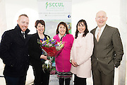 MACE gifts new minibus to local Galway club<br /> The SCCUL Sanctuary, Ballybane, Galway was announced as the winner of the MACE Win a Minibus for your local club competition. Handover of the minibus took place at McGreal&rsquo;s MACE in Ballybrit, where the SCCUL Sanctuary entered the competition. At the event were  Michael Smyth General Manager SCCUL Enterprises, Geraldine Kilbane, SCCUL who was the lucky one to enter the competition, Beatrice McGreal, McGreal's MACE Ballybrit,Trisha Murphy, SCCUL Sanctuary and Liam Bluett at <br /> Photo:Andrew Downes, xposure.