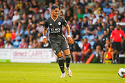 Ayoze Perez of Leicester City (17) passes the ball during the Pre-Season Friendly match between Scunthorpe United and Leicester City at Glanford Park, Scunthorpe, England on 16 July 2019.