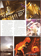 Singapore's nightlife and festivals before the backdrop of British colonial and old Chinese architecture