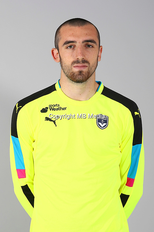 Paul Bernardoni of Bordeaux during the photocall for new season on September 12th 2016 in Bordeaux<br /> Photo : FCGB / Le Lann / Icon Sport