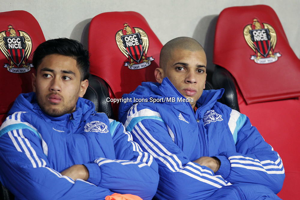 Bill TUILOMA / Matheus DORIA  - 23.01.2015 - Nice / Marseille - 22eme journee de Ligue 1<br />