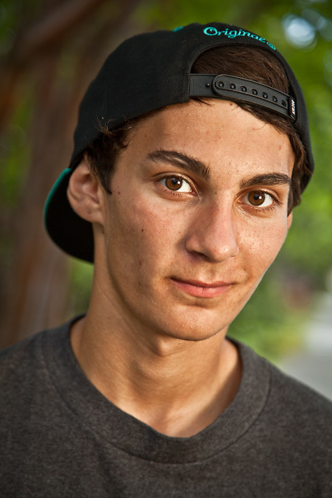 Skateboarder, Chris Torgranmsen, Anchorage