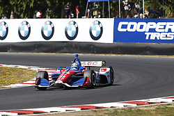 September 2, 2018 - Portland, Oregon, United Stated - TONY KANAAN (14) of Brazil battles for position during the Portland International Raceway at Portland International Raceway in Portland, Oregon. (Credit Image: © Justin R. Noe Asp Inc/ASP via ZUMA Wire)