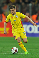 CLUJ-NAPOCA, ROMANIA, MARCH 26: Romania's national soccer player Mihai Pintilii controls the ball during the 2018 FIFA World Cup qualifier soccer game between Romania and Denmark, on March 26, at Cluj Arena Stadium, in Cluj-Napoca, Romania. (Photo by Mircea Rosca/Getty Images)full lenght,, full lenght,