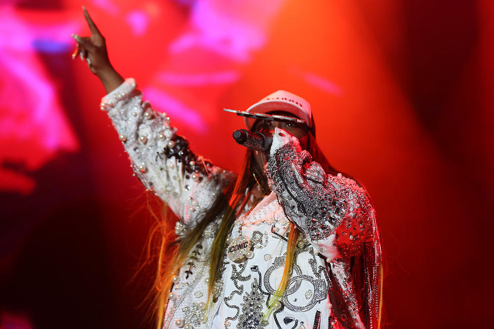 Missy Elliott performs at the FYF Fest on Friday, July 22, 2017, in Los Angeles. (Photo by Willy Sanjuan/Invision/AP)