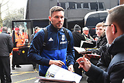 Ben Foster (1) of West Bromwich Albion arriving at the Vitality Stadium before the Premier League match between Bournemouth and West Bromwich Albion at the Vitality Stadium, Bournemouth, England on 17 March 2018. Picture by Graham Hunt.