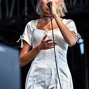 Nina Nesbitt is a Singer-songwriter a Scottish singer-songwriter performs at Kew the Music 2019 on 10 July 2019, London, UK.