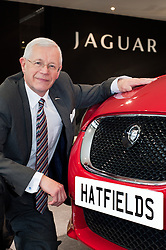 Hatfields Jaguar Sharrowvale Road Sheffield Dearer Principal Andrew Jeffery..10 January 2010.Images &copy; Paul David Drabble Hatfields Jaguar Sharrowvale Road Sheffield Dearer Principal<br />