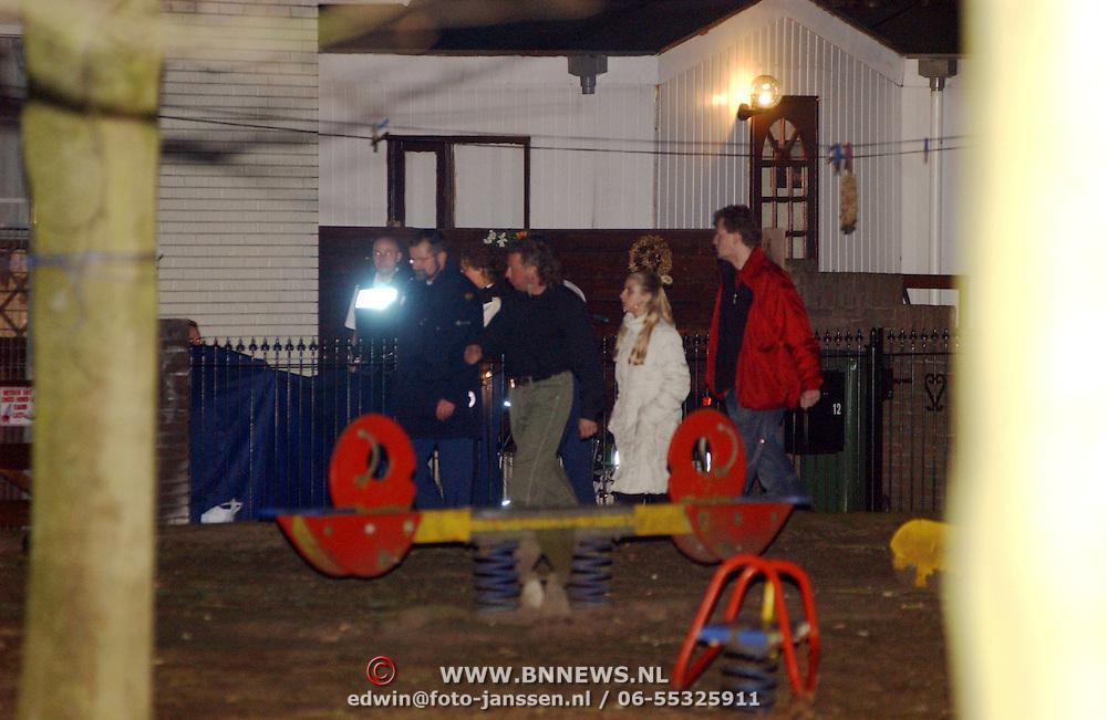 Schietpartij woonwagenkamp Noordersingel Eemnes, , sporenonderzoek politie,