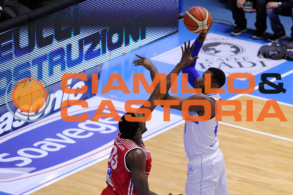Carter Robert Lawrence <br /> Enel Brindisi - Consultinvest Pesaro<br /> Lega Basket Serie A 2016/2017<br /> Brindisi, 09/04//2017<br /> Foto Ciamillo-Castoria
