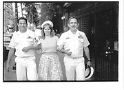 Sailors in New York. New York. 1992. © Copyright Photograph by Dafydd Jones 66 Stockwell Park Rd. London SW9 0DA Tel 020 7733 0108 www.dafjones.com