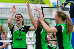 31-03-2019 NED: Final A Volleybaldirect Open, Koog aan de Zaan<br /> 16 teams of girls and boys A competed for the Dutch Open Championship / Sudosa-Desto	vs. Voltena