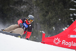 Converse Fields (USA) competes during Final Run of Men's Parallel Giant Slalom at FIS Snowboard World Cup Rogla 2016, on January 23, 2016 in Course Jasa, Rogla, Slovenia. Photo by Ziga Zupan / Sportida