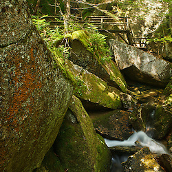 Lost River Gorge in New Hampshire's White Mountains. North Woodstock.