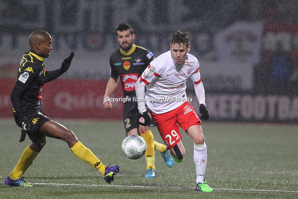 Robert MAAH / Romain GRANGE - 19.01.2015 - Nancy / Orleans - 20e journee Ligue 2<br /> Photo : Fred Marvaux / Icon Sport