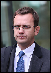 Andy Coulson  at Westminster Magistrates Court in London,  Thursday, 29th November 2012. .Photo by:  Stephen Lock /  i-Images