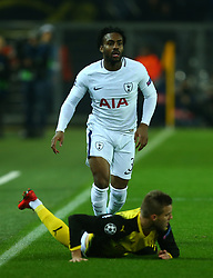 November 21, 2017 - Dortmund, Germany - Tottenham Hotspur's Danny Rose during UEFA Champion  League Group H Borussia Dortmund between Tottenham Hotspur played at Westfalenstadion, Dortmund, Germany 21 Nov 2017  (Credit Image: © Kieran Galvin/NurPhoto via ZUMA Press)