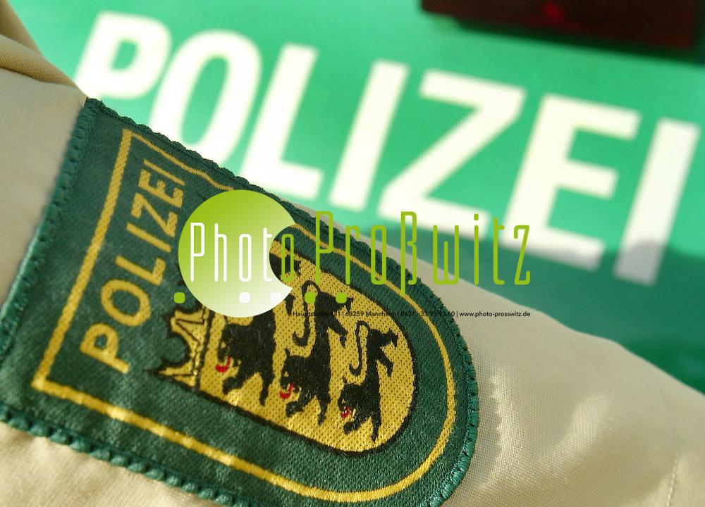 Mannheim. Polizei Feature<br /> <br /> Bild: Markus Pro&szlig;witz