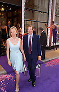 Earl and Countess of Derby, Asprey Store relaunch party after rebuilding. New Bond St. 18 May 2004. ONE TIME USE ONLY - DO NOT ARCHIVE  © Copyright Photograph by Dafydd Jones 66 Stockwell Park Rd. London SW9 0DA Tel 020 7733 0108 www.dafjones.com