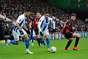 Anthony Knockaert (11) of Brighton and Hove Albion on the attack with Florin Andone (10) of Brighton and Hove Albion during the The FA Cup 3rd round match between Bournemouth and Brighton and Hove Albion at the Vitality Stadium, Bournemouth, England on 5 January 2019.