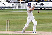 Dane Vilas batting before the Bob Willis Trophy match between Lancashire County Cricket Club and Leicestershire County Cricket Club at Blackfinch New Road, Worcester, United Kingdom on 4 August 2020.