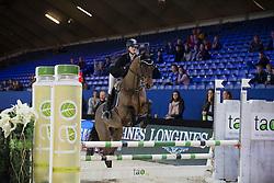 Demeyer Lobke, (BEL), Canstavio van de Hunters <br /> Super Final Youth Cup VLP-LRV<br /> Vlaanderen Kerstjumping - Memorial Eric Wauters - <br /> Mechelen 2015<br /> © Hippo Foto - Dirk Caremans<br /> 30/12/15