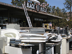The Black Hole Surplus Store. Los Alamos New Mexico. 22 March 2008
