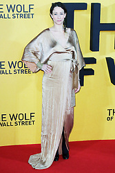 © Licensed to London News Pictures. 09/01/2014, UK. Leah Wood, The Wolf of Wall Street - UK film premiere, Odeon Leicester Square, London UK, 09 January 2014. Photo credit : Richard Goldschmidt/Piqtured/LNP