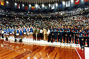 Europei Roma 1991 - Premiazioni - 1° Jugoslavia, 2° Italia, 3° Spagna