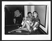 Rusty Egan and Hon.Sophia, Stapleton-Cotton at Le Ball. 1981