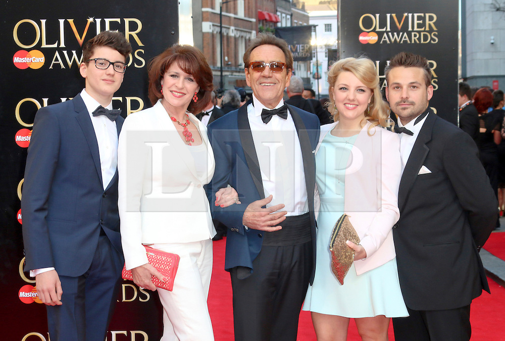 © Licensed to London News Pictures. 13/04/2014, UK. Robert Lindsay, The Laurence Olivier Awards, Royal Opera House, London UK, 13 April 2014. Photo credit : Richard Goldschmidt/Piqtured/LNP