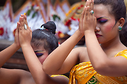 Temple Ceremony, Bedulu, Bali, Indonesia