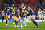 Cincinnati Bengals Wide receiver Alex Erickson (12) in action during the International Series match between Los Angeles Rams and Cincinnati Bengals at Wembley Stadium, London, England on 27 October 2019.