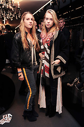 Left to right, ANNA HESKETH and MARY CHARTERIS at a party hosted by InStyle to celebrate the iconic glamour of Dolce & Gabbana held at D&G, 6 Old Bond Street, London on 3rd November 2010.